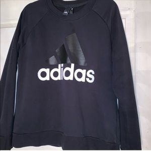 Adidas light weight thin long sleeve sweatshirt